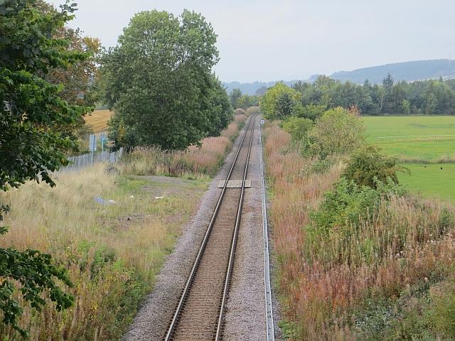 Railway near Bridge of Earn