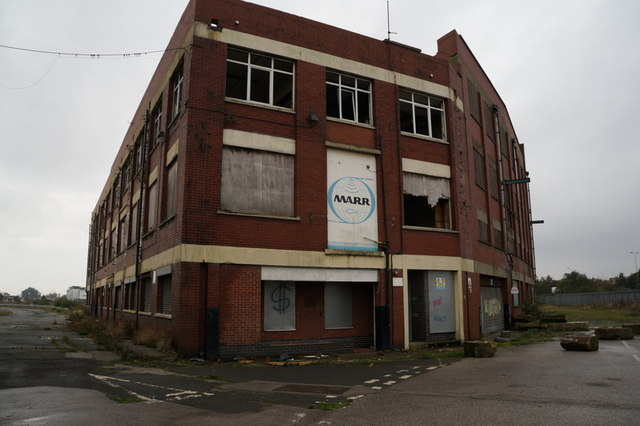 The former Lord Line building, Hull