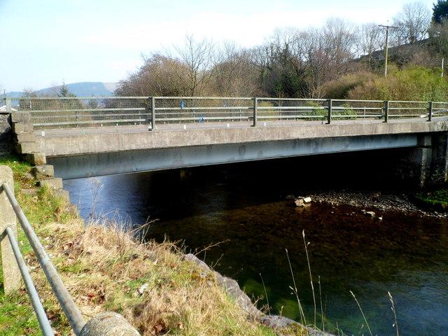Ynysygwas Hill river bridge, Cwmavon