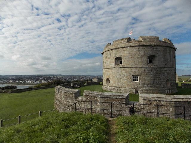 Falmouth: Pendennis Castle keep