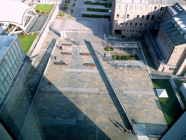 Academic Square, University of Aberdeen