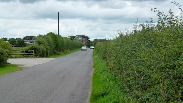 Straight road to Longford