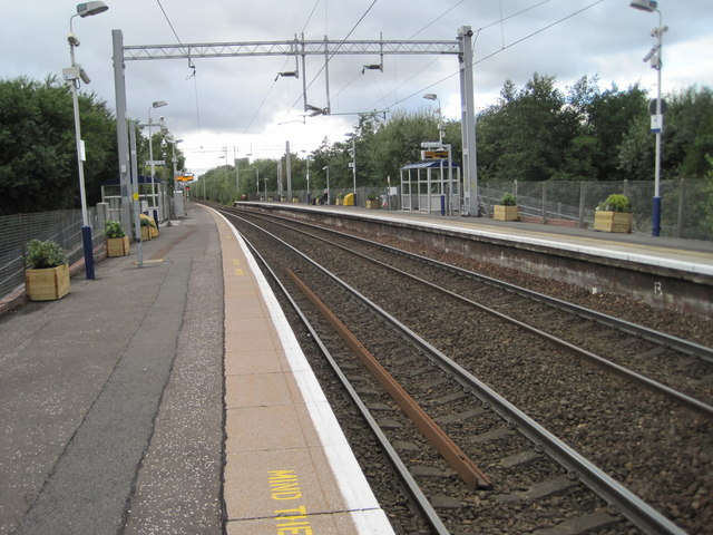 Carntyne railway station, Glasgow