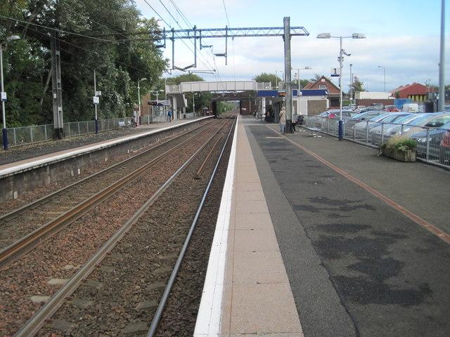 Shettleston railway station, Glasgow