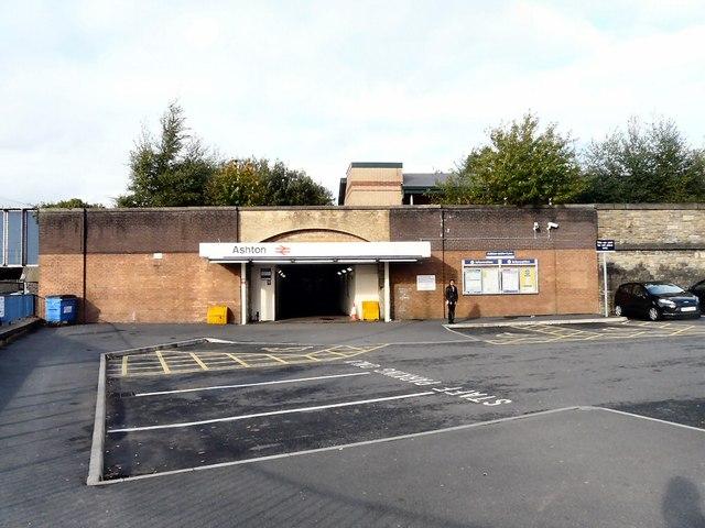Ashton Station Entrance