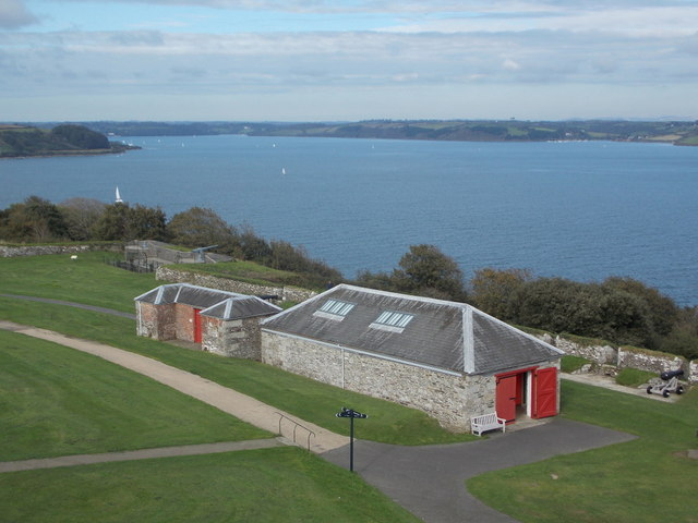 Falmouth: up the River Fal from Pendennis Castle