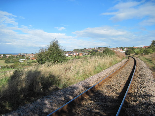 Single  track  rail  line  toward  Brotton