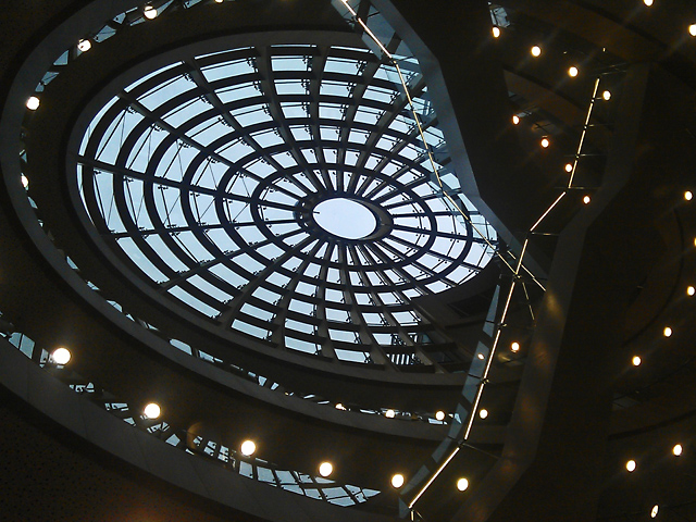 The dome in Liverpool Central Library