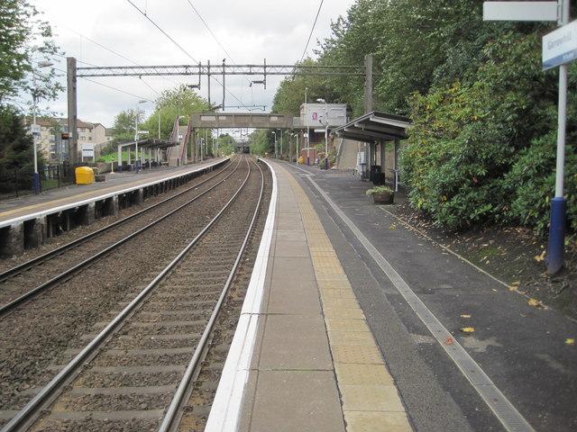 Garrowhill railway station, Glasgow