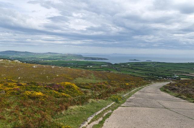 Access road to Mynydd Mawr