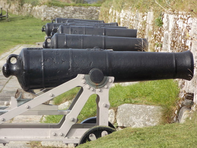 Falmouth: seven cannons