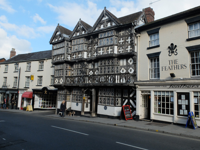 The Feathers, Ludlow