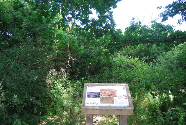 Information board, Weir Wood Reservoir