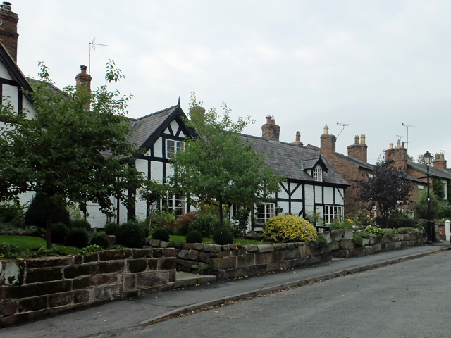 Cottages on Church Bank, Tattenhall