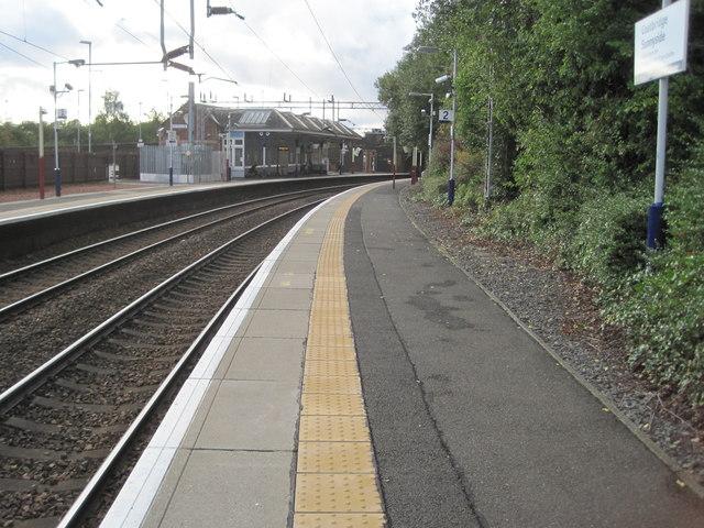 Coatbridge Sunnyside railway station, North Lanarkshire