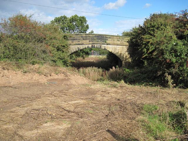 Bridge over disused  railway  line