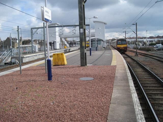 Airdrie railway station, North Lanarkshire