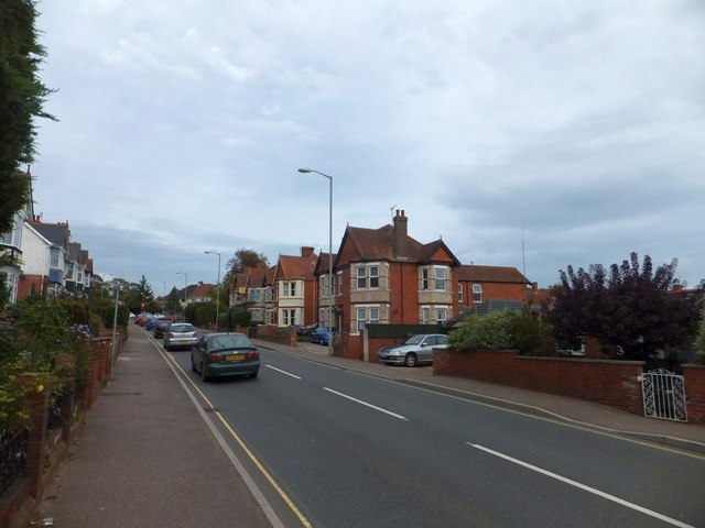 A376 (Marine Way) in Exmouth