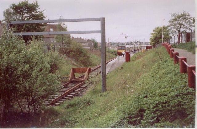 Drumgelloch 1st station, Lanarkshire
