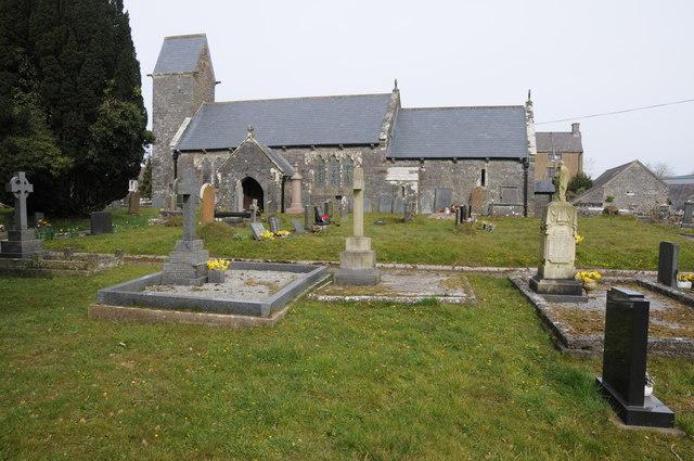 Pendine church