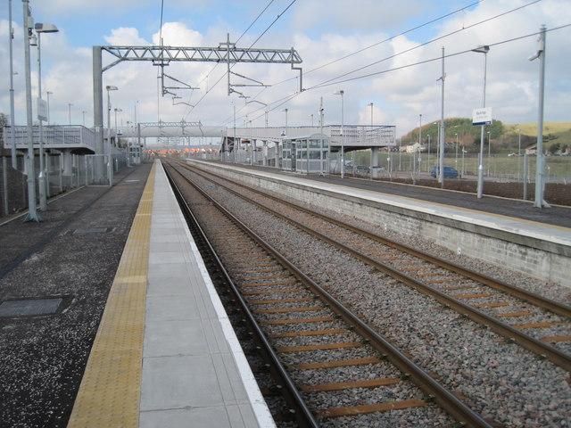 Blackridge railway station, West Lothian