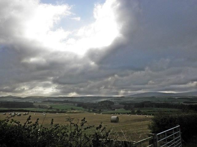 A break in the clouds, near Hepburn