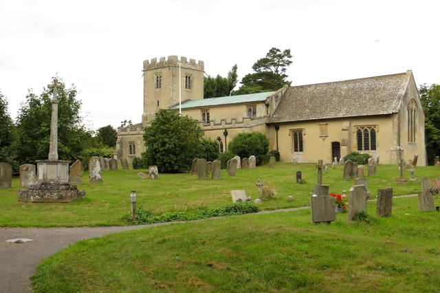 St Mary's Church in Longworth