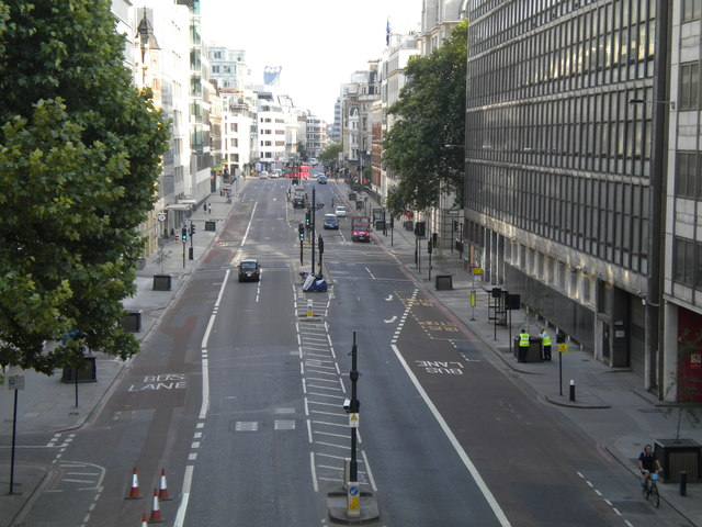 Farringdon Street, City of London