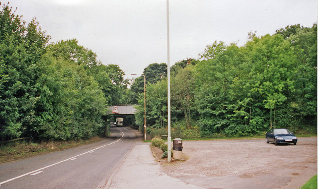 Site of former Keele station, 1999