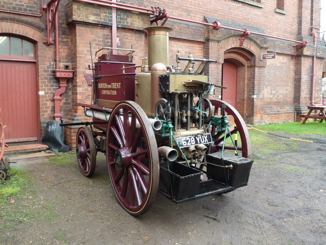 Claymills Victorian Pumping Station - steam fire engine