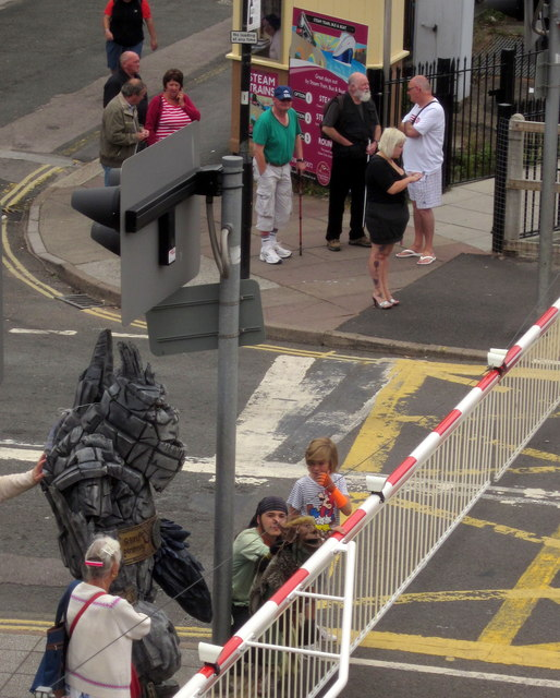 Characters in Paignton