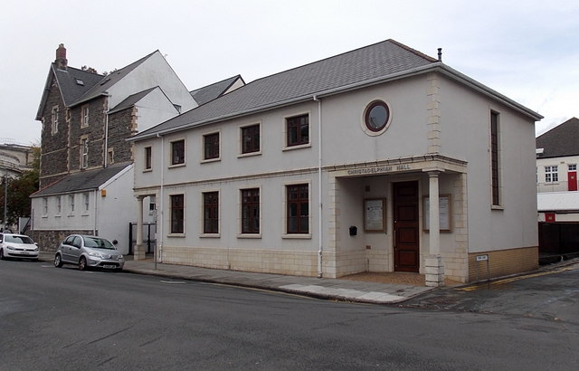 Christadelphian Hall, Museum Place, Cardiff