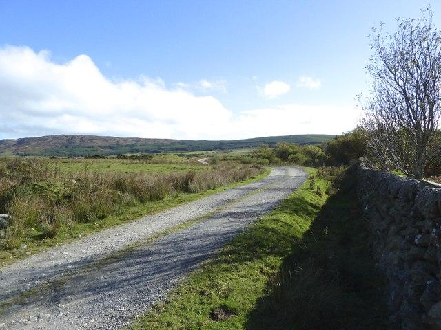Access road to Glenquicken Farm