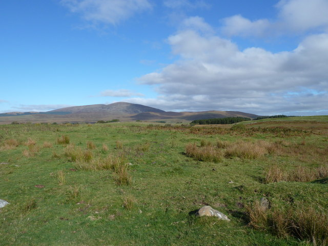 Distant view of Cairnsmore of Fleet