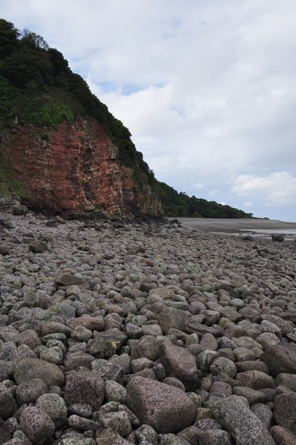 West Somerset : Pebble Beach & Culver Cliff