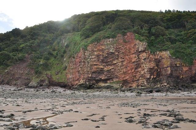 West Somerset : Culver Cliff