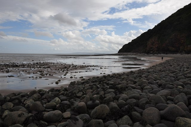 West Somerset : Culver Cliff Sand