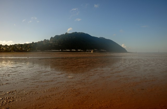 Minehead : Sandy Beach & Headland