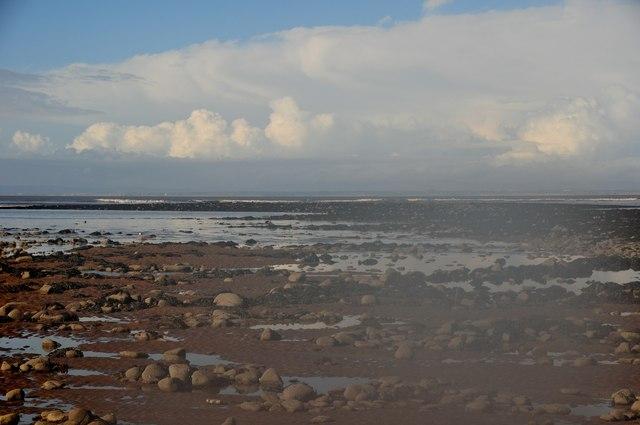 Minehead : Rocks & Sand