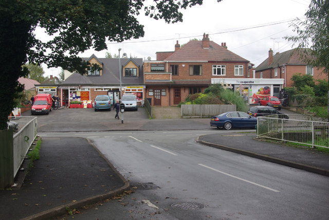 The Lawns, Rolleston on Dove