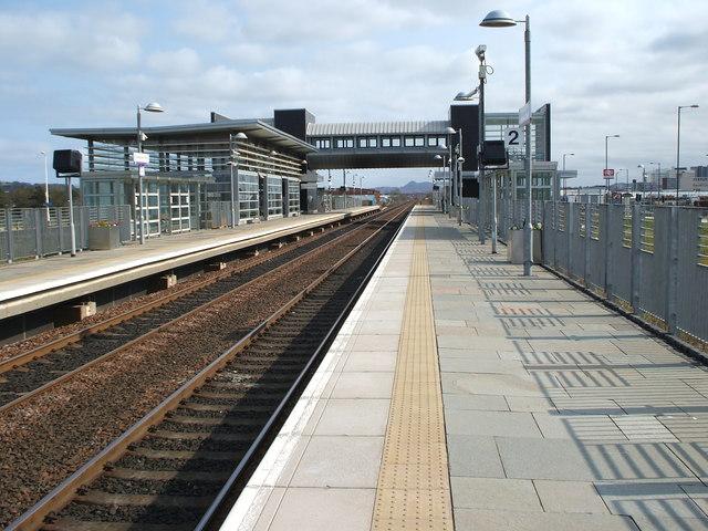 Edinburgh Park railway station, Edinburgh