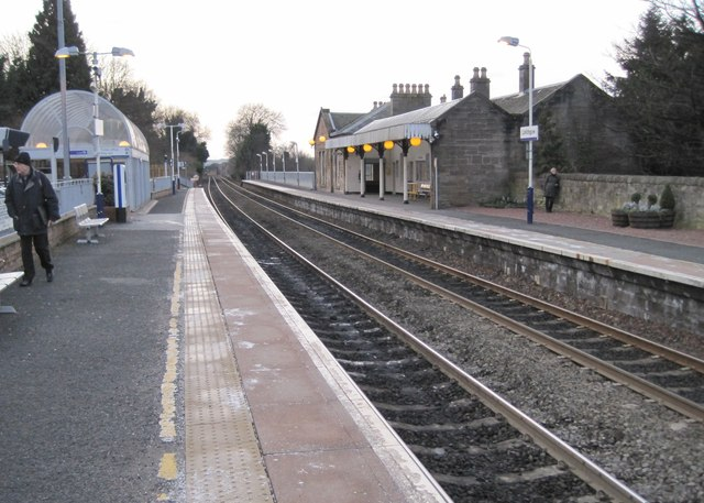 Linlithgow railway station, West Lothian