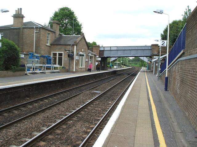 Polmont railway station, Stirlingshire