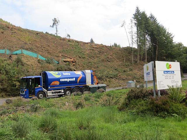 Binn road, bin lorry