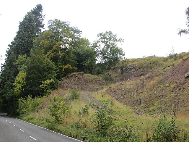 Quarry, Glen Farg
