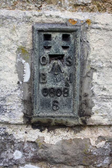 Benchmark on St Andrew's Church