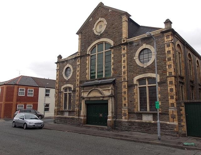 Minny Street chapel, Cardiff