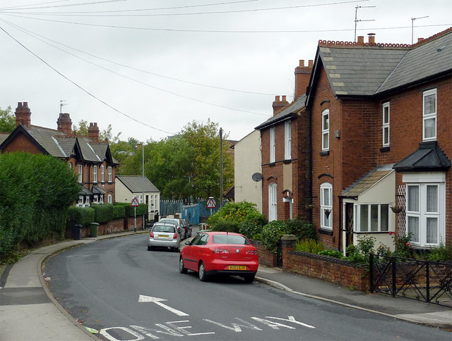 Gipsy Lane in Willenhall, Walsall