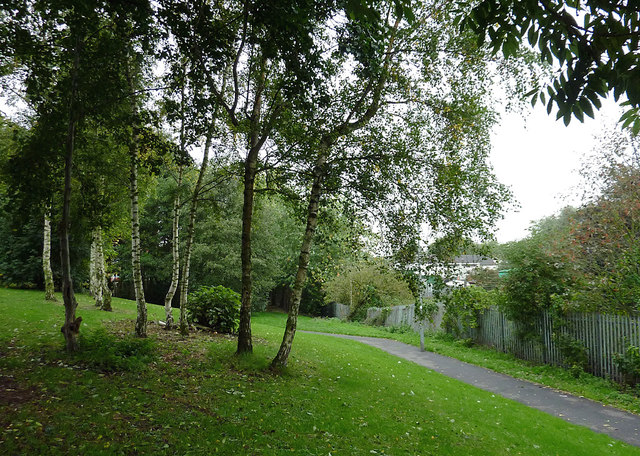 Footpath in Willenhall, Walsall