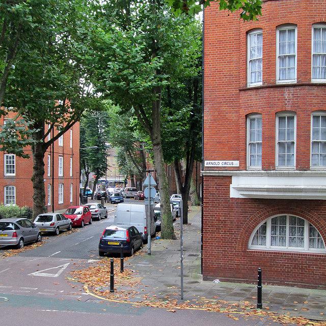 Arnold Circus and Camlet Street